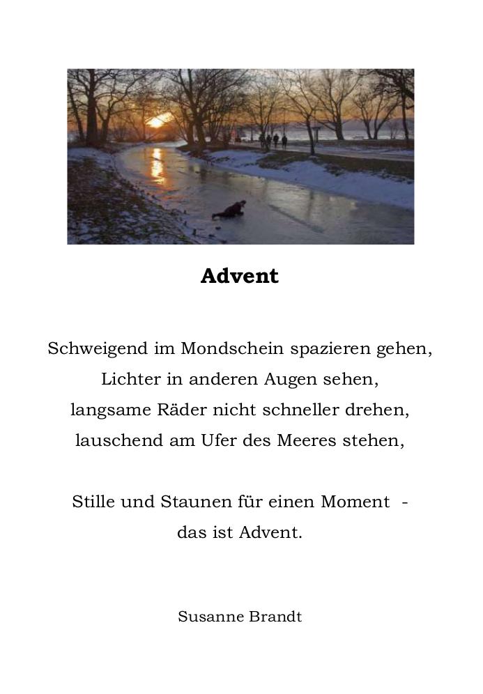 Advent 15 Dezember 2015 Gedichte Und Geschichten