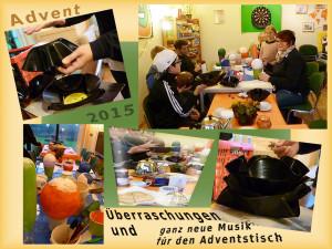 Jugendhaus Ihrhove Advent 2015 Collage